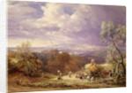 Harvesting by Samuel Palmer