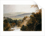 A View on the River Wharfe, near Bolton, Yorkshire by Peter de Wint