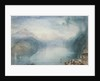 Lake Lucerne: The Bay of Uri by Joseph Mallord William Turner