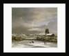 Winter Landscape by Jacob Isaaksz. or Isaacksz. van Ruisdael