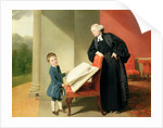 The Reverend Randall Burroughes and his son Ellis, 1769 by Johann Zoffany