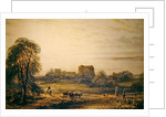 Glastonbury Abbey by Frederick Nash