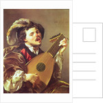 The Lute Player, 1624 by Hendrick Ter Brugghen