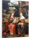 Madonna and Child with St. Anne by Master of 1518
