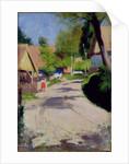 Road through a Village, 1910 by Wlodzimierz Tetmajer