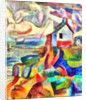 house at the seaside, 2017 by Alex Caminker