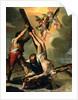 The Crucifixion of Saint Peter by Ventura di Arcangelo Salimbeni