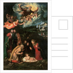 Nativity with God the Father by Battista Dossi