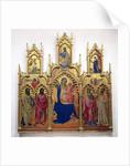 Madonna and Child with Saints by Lorenzo Monaco