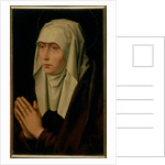 The Virgin Mourning by Hans Memling