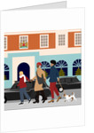 Christmas Shopping by Claire Huntley