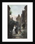 Farewell, 1855 by Carl Spitzweg