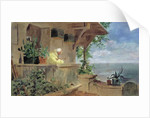 The Lookout by Carl Spitzweg