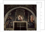 The Liberation of St. Peter, in the Stanza D'Eliodoro, 1512-14 by Raphael