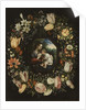 Madonna and Child in a garland of flowers, c.1625 by Jan & Balen Hendrik van Brueghel