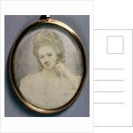 Portrait Miniature of Georgiana, Duchess of Devonshire, c.1775 by Jeremiah Meyer