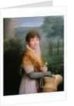Portrait of a Young Woman by Gioacchino Giuseppe Serangeli