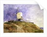 Windmill on a Hill, 19th century by John Sell Cotman