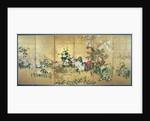 Flowers of the Four Seasons by Watanabe Shiko