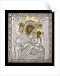 Icon of the Virgin Hodegetria by Russian School