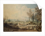 A View of Oxford from the South Side of Headington Hill, 1803-04 by Joseph Mallord William Turner