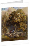 Pastoral with a Horse Chestnut Tree, c.1830-31 by Samuel Palmer