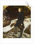 John Ruskin, 1854 by John Everett Millais