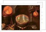 Still Life of Kitchen Utensils, 17th century by Cornelis Jacobsz Delff