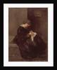 Madame Pissarro Sewing, 19th century by Camille Pissarro