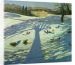 Calke Abbey House, Winter by Andrew Macara