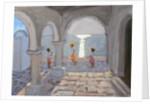 Children Skipping, Greek Islands by Andrew Macara