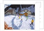 Skiing into Val Gardena, Italy, 2015/17 by Andrew Macara