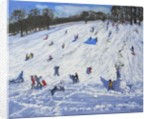 Large snowman,Chatsworth by Andrew Macara