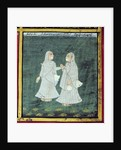 Two Dhondiya Women, Religious Mendicants, Udaipur, c.1810-20 by Indian School