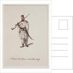 Sindian Foot Soldier in his War Dress, 1815 by Robert Melville Grindlay