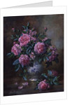 A Medley of Pink Roses by Albert Williams