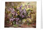 Enchanting Junetide Wisteria by Albert Williams