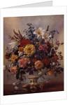 PB/268 Vase of Flowers in a Porcelain Jug by Albert Williams