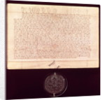 Letters of Patent granted to the Worshipful Company of Drapers by English School