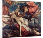 The Origin of the Milky Way by Jacopo Robusti Tintoretto