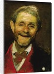 Old Man Laughing by A Beridze