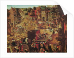 Kermesse with Theatre and Procession by Pieter the Younger Brueghel