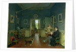 Interior of a Dining Room by Martin Drolling