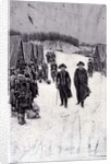 Washington and Steuben at Valley Forge by Howard Pyle