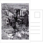 A Quaker Exhorter in New England by Howard Pyle