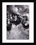 The Burning of Jamestown by Howard Pyle