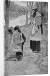 Father Hennepin Celebrating Mass by Howard Pyle