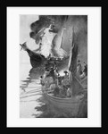 Burning of the 'Gaspee' by Howard Pyle