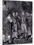 Indians round a Fire by Howard Pyle