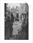 The Inauguration, engraved by Francis Scott King by Howard Pyle